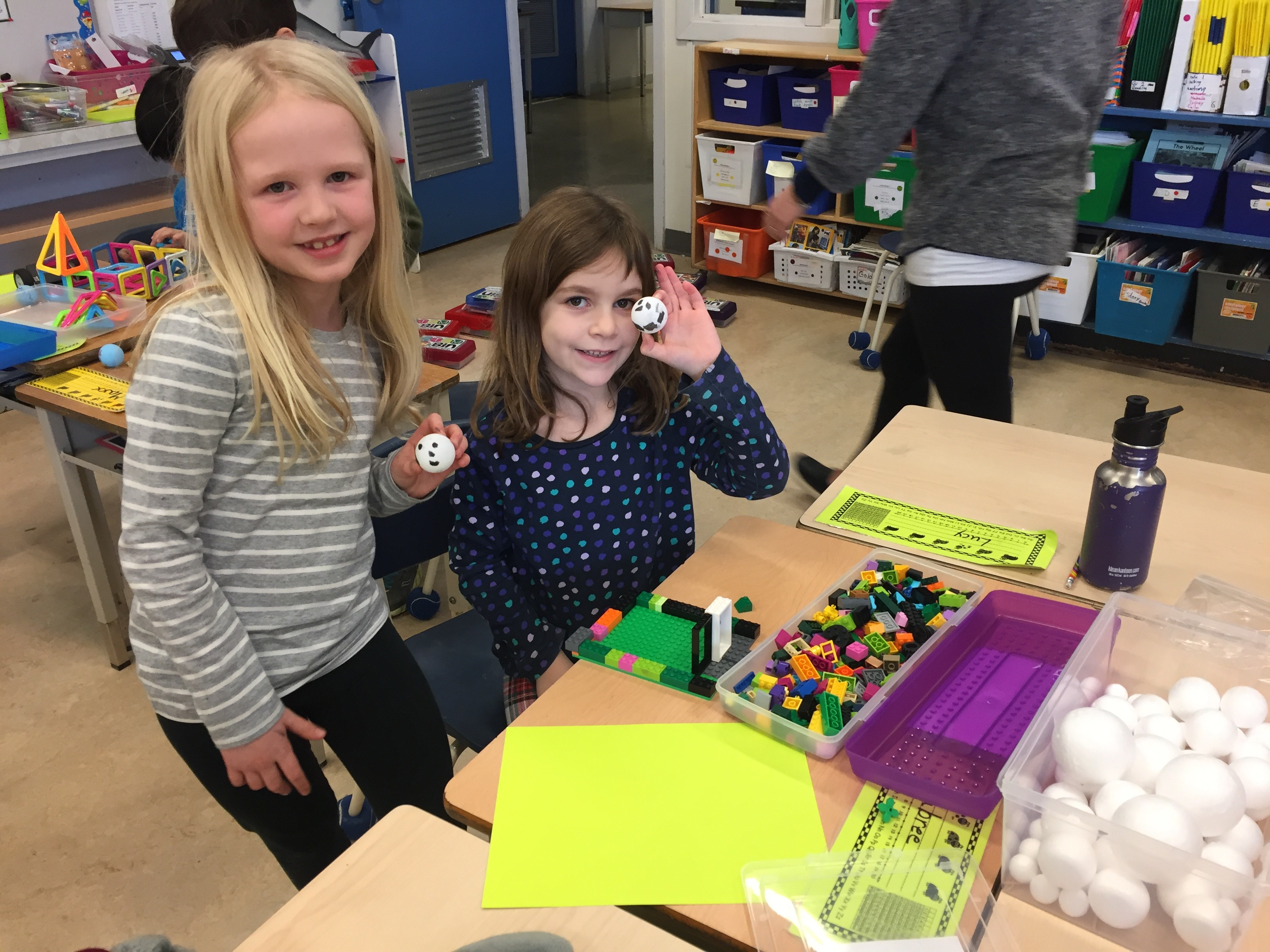 STEM Learning in Grade 1